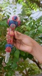 Tibetian Healing Wand-f1, Rose Quartz Ball, Rose Quartz Face