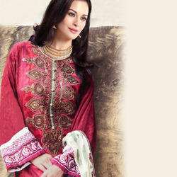 Embroidered Pure Cotton Lawn Suit