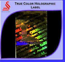 True Color Hologram Label