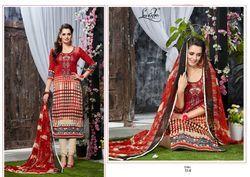 Fancy Woolen Salwar Suit