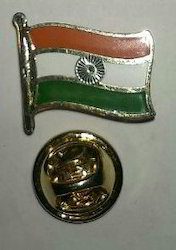 Metal Flag Pin