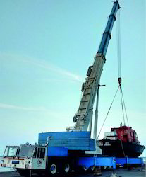 Truck Mounted, Telescopic Crane & Lattice Crane