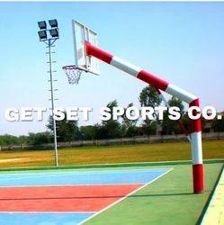 Basketball Pole Set