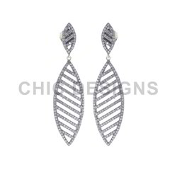 Diamond Marquise Earrings
