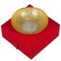 Brass Antique Gold Fruit Bowl