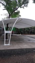 Covered Car Parking Structure