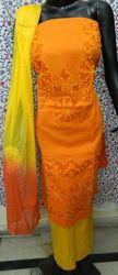 Aaditri New Applique Cut Work Suit Material