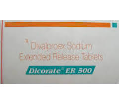 Dicorate ER - 500mg Tablet