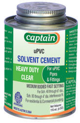 solvent cements