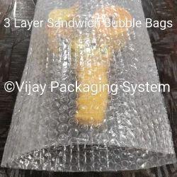 3 Layer Sandwich Air Bubble Bag
