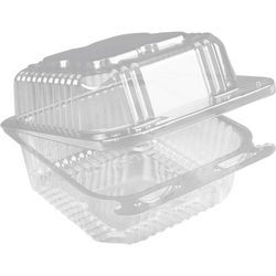 Hinged Plastic Container