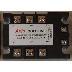 Axis 3 Phase 40 A Solid State Relay