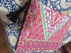 Suzani Embroidery Clutch