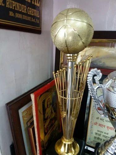 Basketball Trophy Big Double Cup Manufacturer From Jalandhar