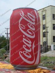Inflatable Coke Bottle