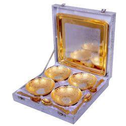 Brass Gold Bowl Set