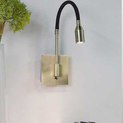 Gold Felxo Arm Wall Light