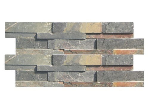 Black Slate Stone Wall Cladding Panels