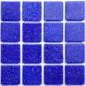 Glass Mosaic Tiles In Plain Color