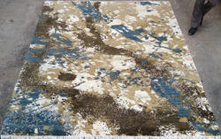 Handknotted Contemporary Design Rug
