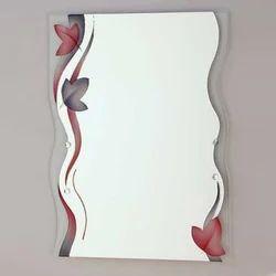 Frameless Wall Mirror Glass