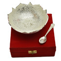 Glossy Silver Plated Bowl