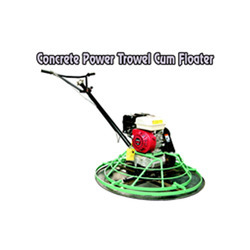 Concrete Power Trowel Cum Floater