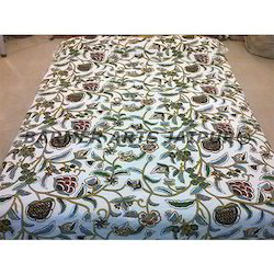 Bed Cover Cotton Kashmiri Embroidery Six Color