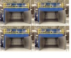 Electrically Heated Curing Oven