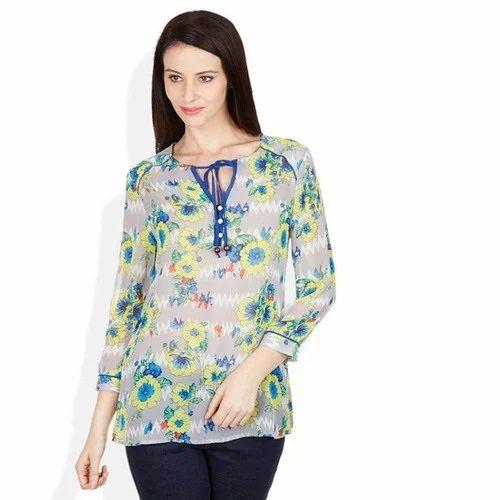 fbcd7ebc6ad Women Tunics - Women Polyester Tunics Manufacturer from New Delhi