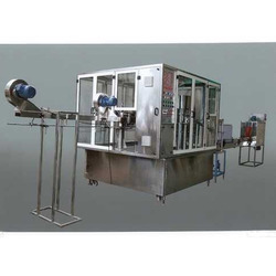 Single Head Jar Washing Filling Capping Machine