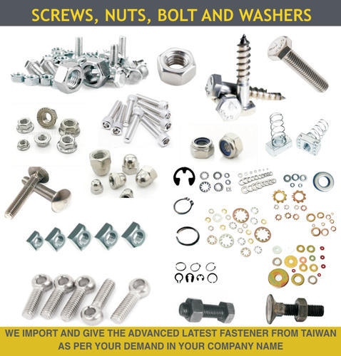 Screw, Nut, Bolt and Washers