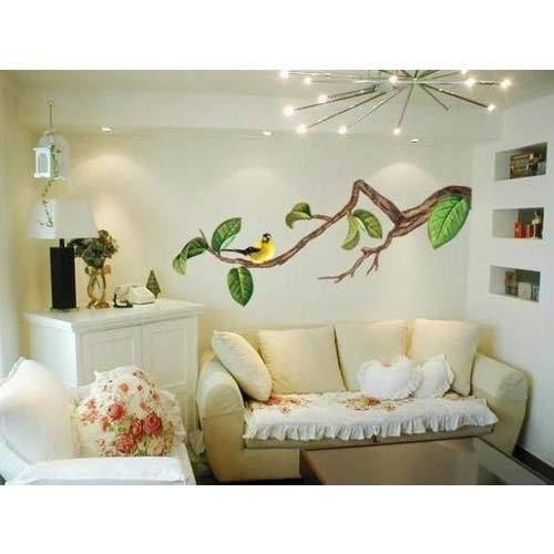 Exceptionnel Interior Wall Painting