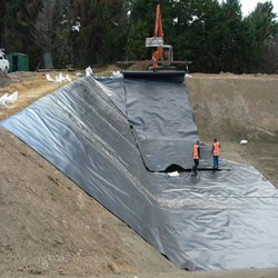 Installed Geomembrane