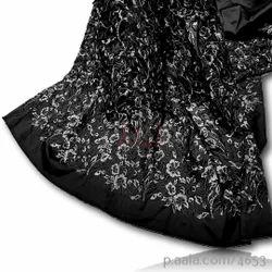 Embroidered Tafetta Silk Fabrics