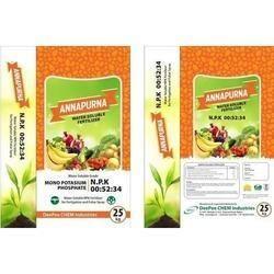 NPK : 00-52-34 Water Soluble Fertilizer