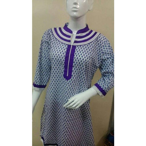Coloured Printed Kurti