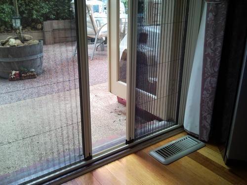 Beau Plisse Mosquito Screen Door