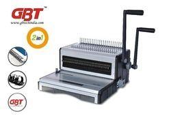 2 In 1 Comb and Wiro Binder Machine