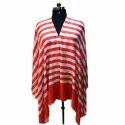 Allover Stripes Cashmere Scarves