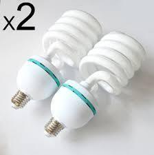 high wattage half spiral bulb