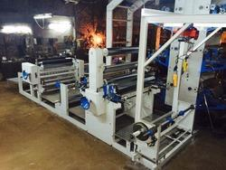 Flexographic Printing Machine with online sheet cutting
