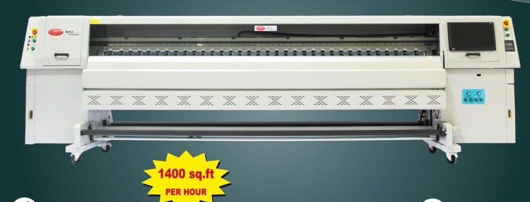 Solvent Flex Printer Konica 512i