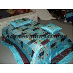 Blue Fancy Bed Sheets