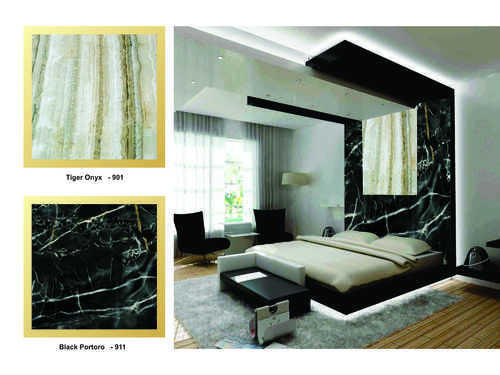 PVC 4 MM Decorative Wall And Partition Panel - Tiger Onyx-901 Walls ...