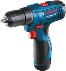 Cordless Drill & Screw Driver With 2 Battery