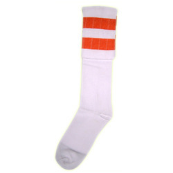 Women Socks With Colorful Strip