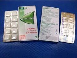 Nicotine Polacrilex 2mg, 4mg Gum