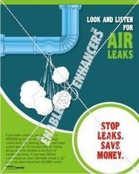 Prevent Energy Leaks Posters