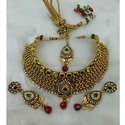 Indian Necklace with White Bead